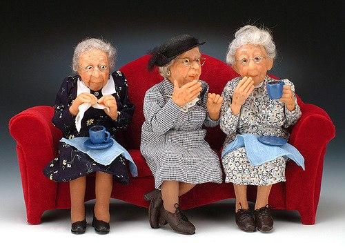 Психология общения со стариками и детьми