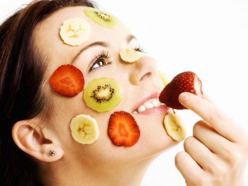 Пищевые продукты и их влияние на кожу лиц