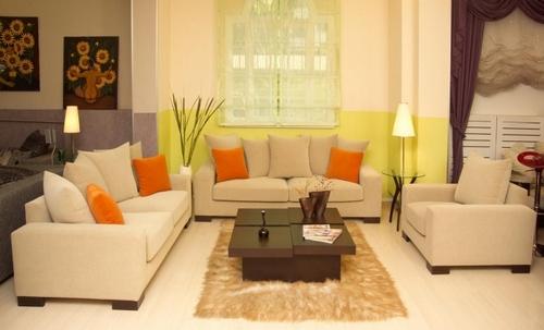 Расставляем диваны в гостиной по фен-шуй