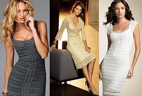 вязаные платья, одежда, lamoda
