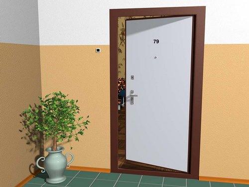 Какими должны быть двери на лестничной площадке по фен-шуй