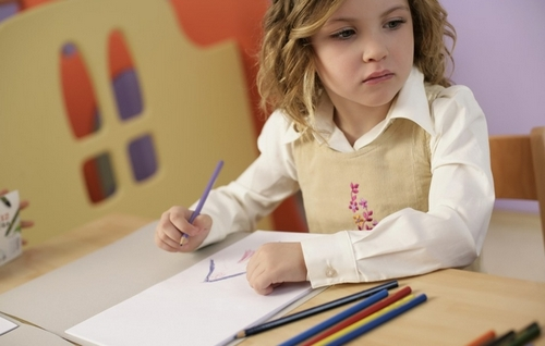 Учим ребенка красиво рисовать