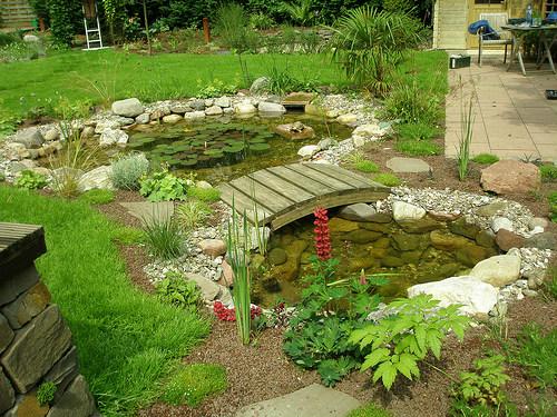 Как обустроить сад по фен-шуй