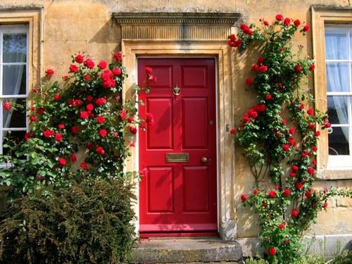 Каким должен быть цвет входной двери по фэн-шуй