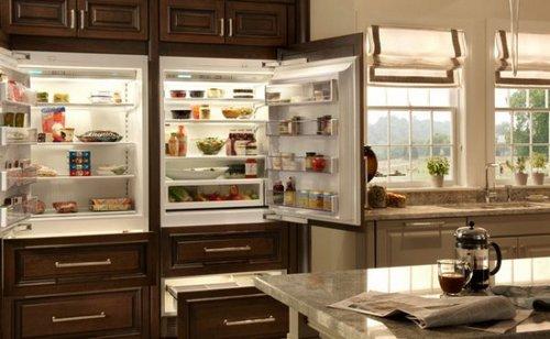 Как разместить холодильник на кухне по фен-шуй
