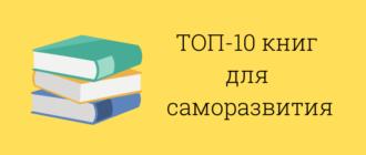 топ 10 книг по саморазвитию которые должен прочитать каждый