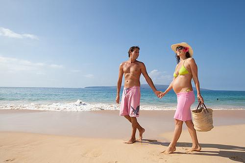 Беременность и море: полезные моменты